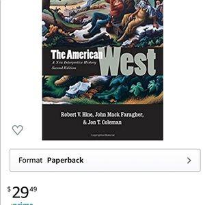 """American West"" book NWT"